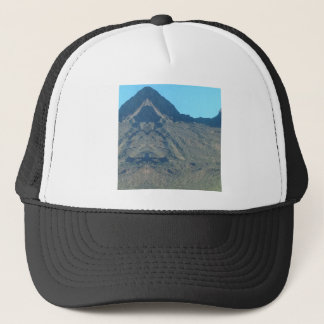 Buddha of the mountain trucker hat