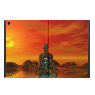buddha orange and sea case for iPad air