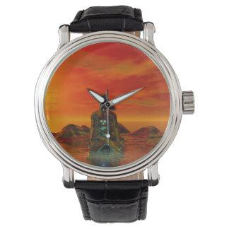 buddha orange and sea watch