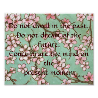 Buddha Past Present and Future Poster