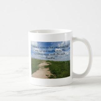 Buddha Path Quote Mug