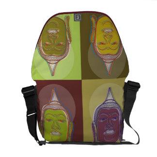 Buddha Pop Art Retro Modern Graphic Vector Bag Commuter Bag