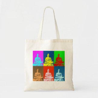 Buddha Pop Art Style