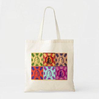 Buddha -- Pop Art Style Tote Bag