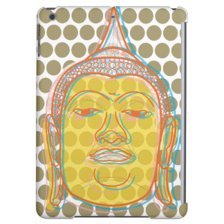 Buddha Pop Dots Zen Asian Modern Art iPad Case