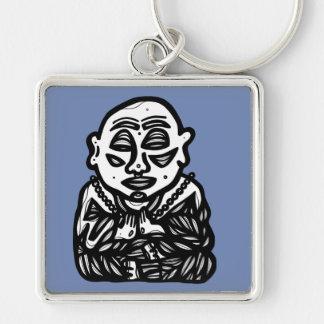 """""""Buddha Pray"""" Premium Keychain"""