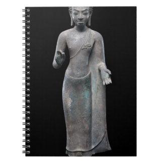 Buddha Preaching Spiral Notebook