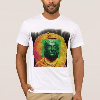Buddha print Men's White Tee