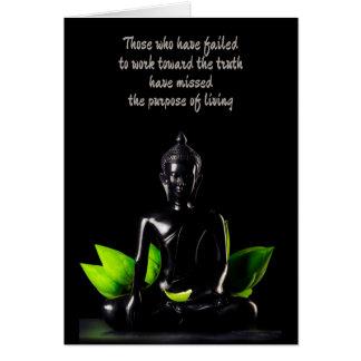 Buddha Quote 1 customizable greeting card