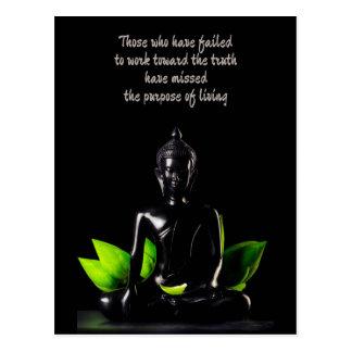 Buddha Quote 1 postcard