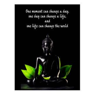 Buddha Quote 2 postcard