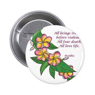 Buddha Quote 6 Cm Round Badge