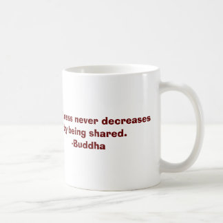 Buddha Quote About Happiness Mug