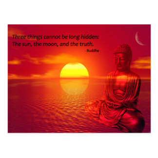 Buddha Quote Inspirational Spiritual Postcard