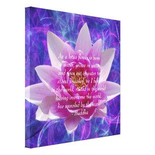 lotus flower canvas prints wall art zazzle com au