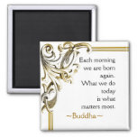 Buddha Quote ~ Motivational Magnet