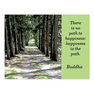 Buddha quote -- postcard