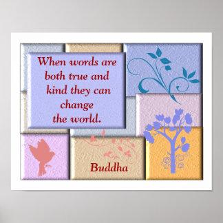 Buddha quote - Poster Art