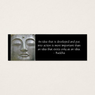 Buddha Quote Profile Card