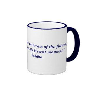 Buddha quote ringer mug