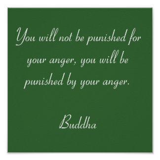 Buddha Quotes #3 Poster