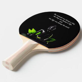 Buddha Quotes ping pong paddle
