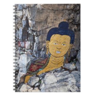 Buddha Rock Painting Notebook