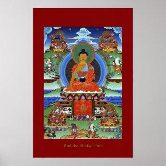 Buddha Shakyamuni Religious Art Poster Series