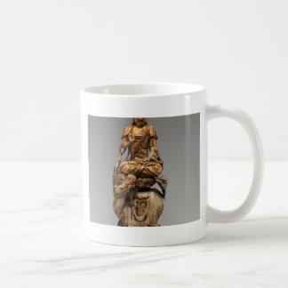 Buddha Shakyamuni with attendant bodhisattvas Coffee Mug