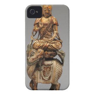 Buddha Shakyamuni with attendant bodhisattvas iPhone 4 Case-Mate Case