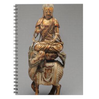 Buddha Shakyamuni with attendant bodhisattvas Notebooks