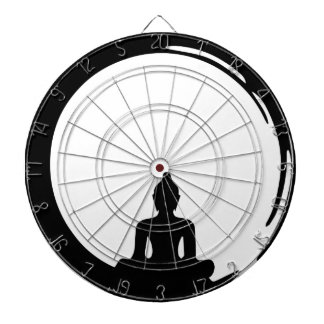 Buddha silent dartboard