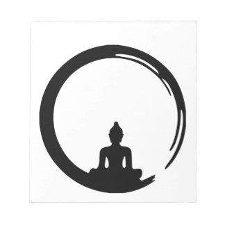 Buddha silent notepad