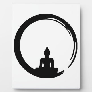 Buddha silent plaque