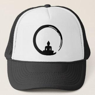 Buddha silent trucker hat