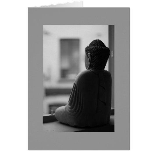 Buddha Sitting in Meditation Card