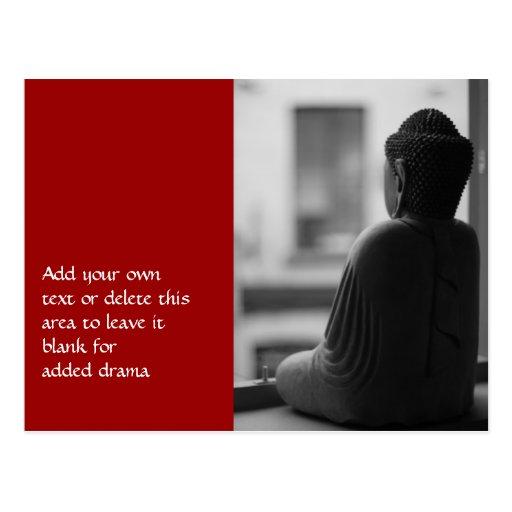 Buddha Sitting in Meditation Post Cards