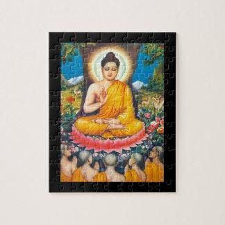 buddha sitting under the tree of inspiration jigsaw puzzle