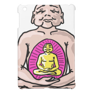 Buddha Sketch Vector Cover For The iPad Mini