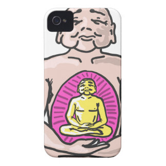 Buddha Sketch Vector iPhone 4 Covers