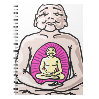 Buddha Sketch Vector Notebooks
