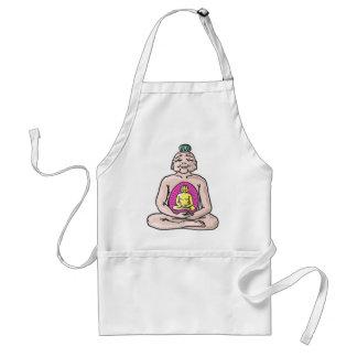 Buddha Sketch Vector Standard Apron