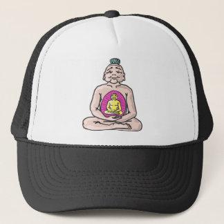 Buddha Sketch Vector Trucker Hat