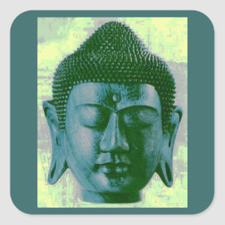 Buddha Square Sticker