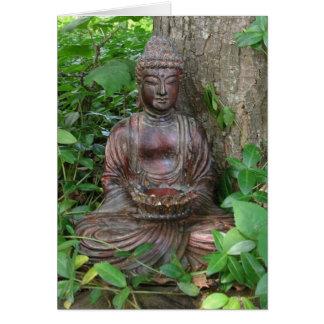 Buddha Statue Card