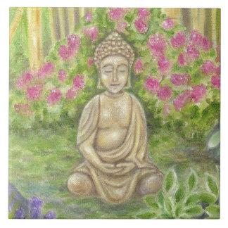 Buddha Statue wall tile