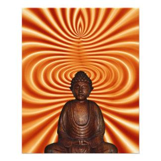 Buddha Style 11.5 Cm X 14 Cm Flyer