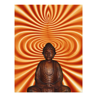 Buddha Style 21.5 Cm X 28 Cm Flyer