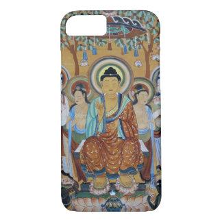 Buddha surrounded by bodhisattva iPhone 7 case