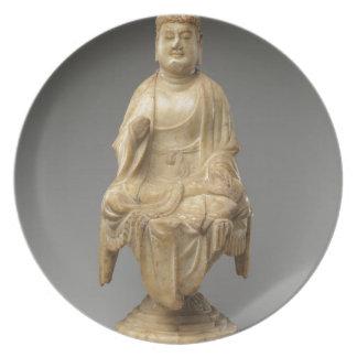 Buddha - Tang dynasty (618–907) Plate